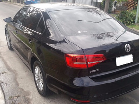 Volkswagen Vento 2.0 Summer Pack 2015 Negro Full Impecable