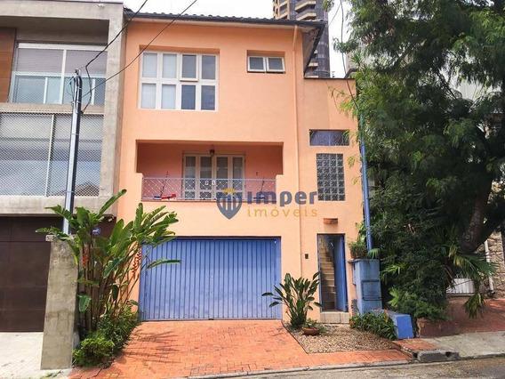 Casa Com 3 Dormitórios À Venda, 180 M² Por R$ 1.500.000 - Perdizes - São Paulo/sp - Ca1325