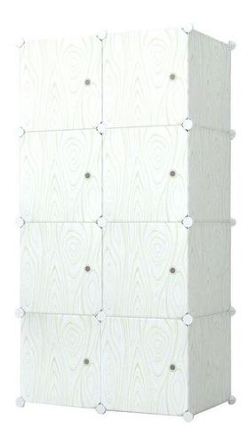 Mueble Multifuncion De 8 Modulos Con Puertas - Ropero