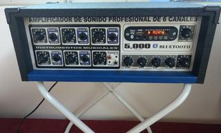 Amplificador De Sonido Con Bluetooth Totalmente Nuevo