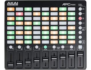 Akai Pro Apc Mini Controlador Dj Ableton Live Usb Portatil