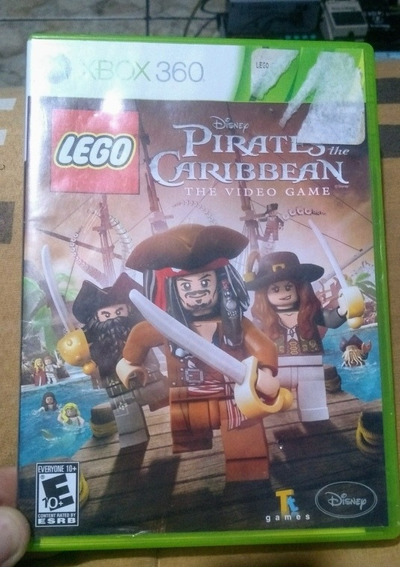 Lego Piratas Do Caribe Original Para Xbox 360