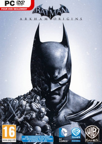 Batmam Arkham Origins Pc - 100% Original (steam Key)