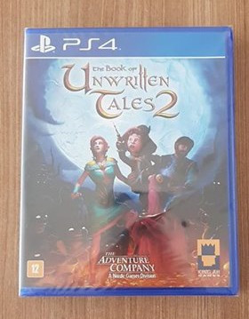 The Book Of The Unwritten Tales Ps4 Lacrado
