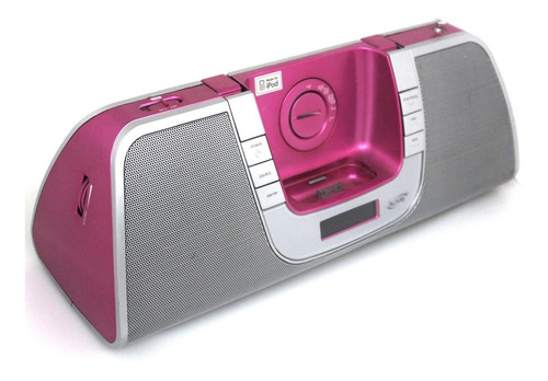Corneta Speaker Radio Portátil Pink Reproductor iPhone