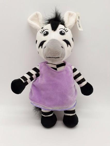 Zebra De Pelúcia Irmã Do Zou 30cm Disney Junior