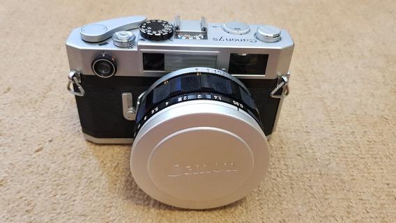Câmera Analógica Canon 7s (uma Relíquia)