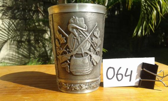 Vaso 400ml Copa Medieval Cazador Estaño Vikingo Alemania 064