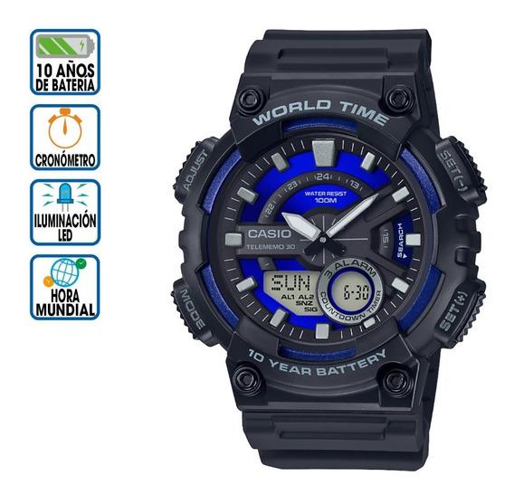 Reloj Casio Core 10 Años Aeq-110w-2a2