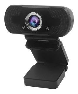 Camara Web Cam Alta Definicion C/ Microfono Zoom Skype Y Mas