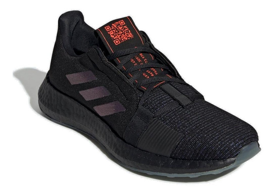 Tênis Running adidas Masculino Senseboost Go Ef0709 Preto