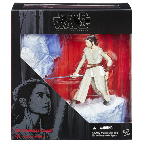 Imagen 1 de 3 de  Disney Star Wars Black Series Rey 6-inch Starkiller Base