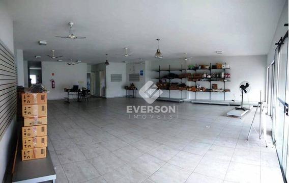 Barracão Para Alugar, 280 M² Por R$ 4.000/mês - Jardim Bela Vista - Rio Claro/sp - Ba0061