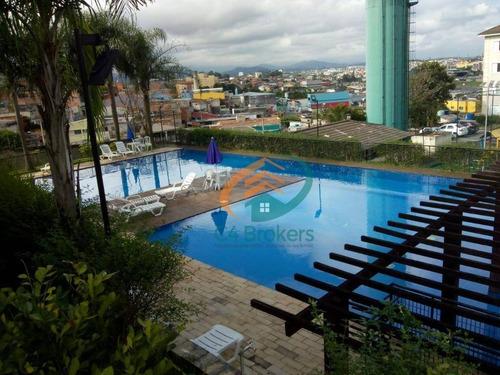 Apartamento Com 2 Dormitórios À Venda, 56 M² Por R$ 235.000,00 - Jardim Angélica - Guarulhos/sp - Ap3451