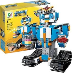 Robô Movido Controle Remoto, Kit Robótica Montagem 351pcs
