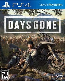 Days Gone Ps4 Nuevo Fisico Sellado Envio Gratis