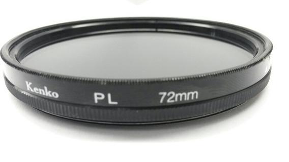 Filtro Polarizador Kenko 72mm Usado