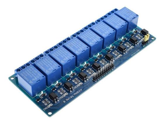 Módulo Relé 8 Canais 5v - Projeto Automação Arduino