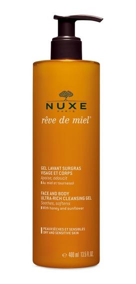 Nuxe - Reve De Miel - Gel Limpiador Rostro Y Cuerpo 400 Ml