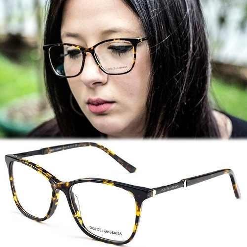 29f661e66 Armação Para Óculos De Grau Dolce Gabbana Tartaruga Quadrado - R$ 121,99 em  Mercado Livre