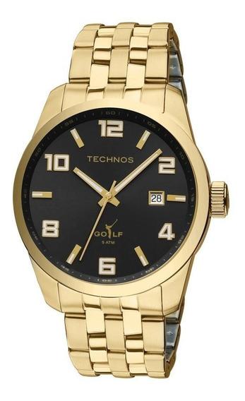 Relógio Technos Golf Masculino Analógico Dourado 2315yj4p