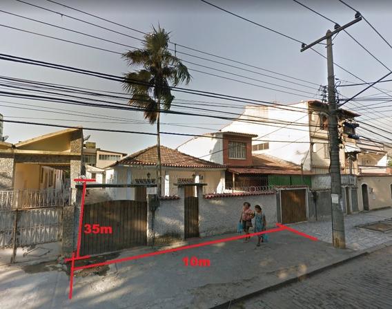 Casa Da Rua Álbano 93 Terreno 10 X 35 - Praça Seca Rio De Ja