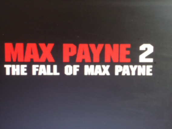 Cd Max Payne 2 Pc.