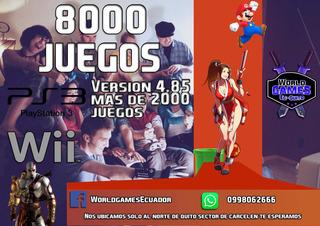 Instalacion De Chip Virtual Nintendo Wii Y Ps3 18000 Juegos