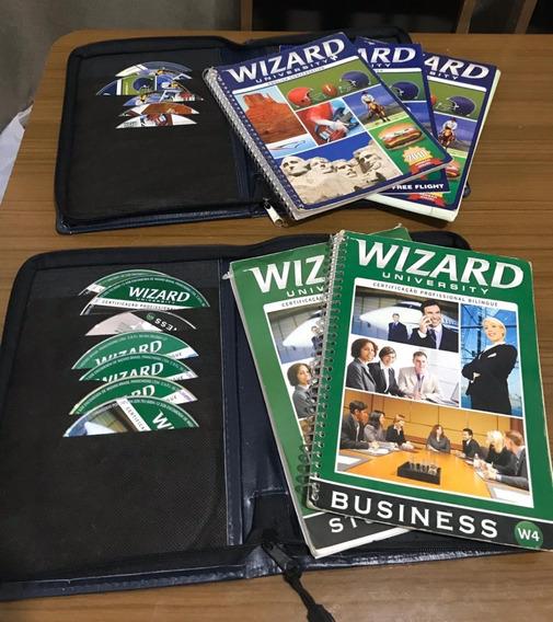Kit Livros + Cds Wizard W2/w4