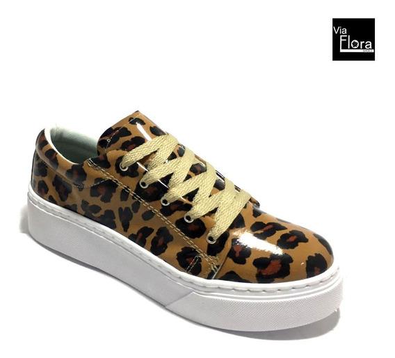 Zapatillas De Mujer Urbanas Animal Print Moda 2020 (dep5)