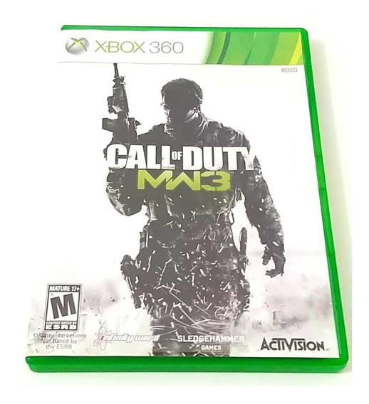 Call Of Duty Mw3 Xbox 360 Original Completo Mídia Física