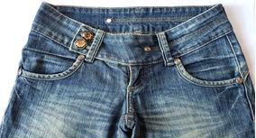 Calça Jeans Damyller Original Cintura Baixa No Tamanho 34