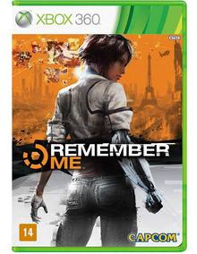 Remember Me Capcom Xbox 360 Lacrado Mídia Física Português
