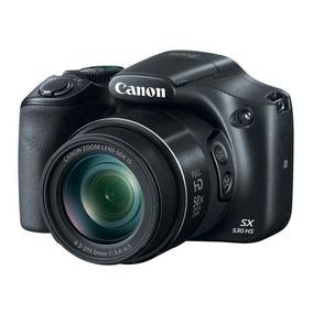 Maquina Fotografica Sx530hs 16.0mp Preta - Canon