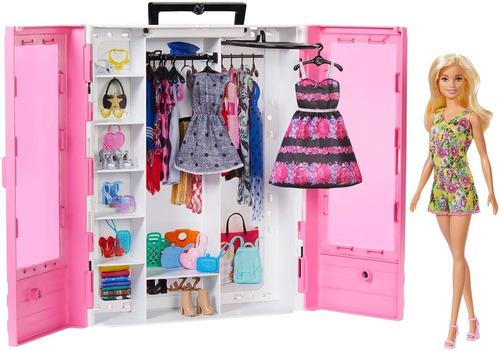Barbie Fashionista Closet De Lujo Muñeca Para Niñas