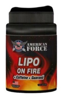 Quemador Grasa Lipo On Fire Termogenico 120 Capsulas
