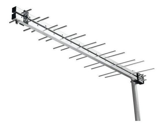 Antena De Celular Espinha De Peixe 1800 A 2100 Mhz 17 Dbi