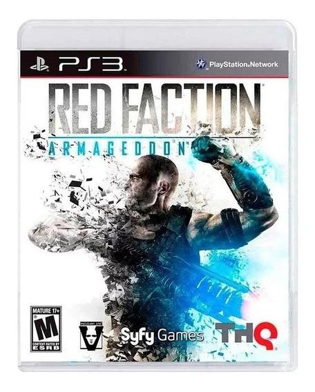 Jogo Red Faction Armageddon Ps3 Novo Lacrado Bonus