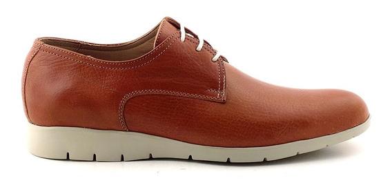 Zapato Hombre Cuero Briganti Base De Goma - Hcac00842