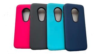 Funda Alto Impacto Rigida Motorola Moto E5 Play + Vidrio
