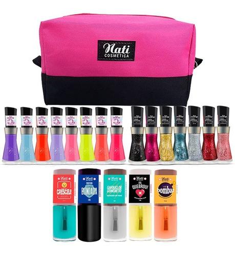 Imagem 1 de 5 de Kit Multi Coleções Nati - Glitter + Multicolor + Me Salva
