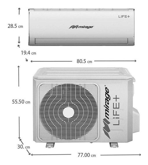 Minisplit Life+ 24,000btus 220v Con Gas R410 Alta Eficienci