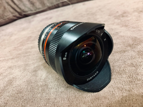 Lente Samyang 8mm Fisheye Fujifilm X Mount