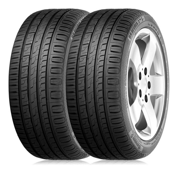 Kit 2 Pneus 195/55r15 Barum Bravuris 3 Hm 85v