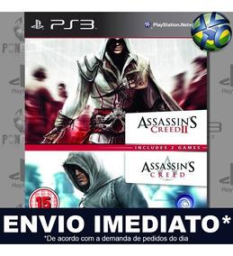 Assassins Creed Double Edition 1 + 2 Ps3 Código Psn Promoção