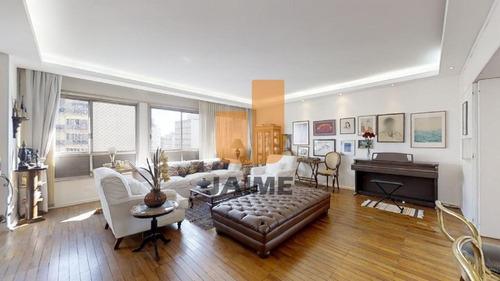 Apartamento À Venda Em Higienópolis, Com 3 Quartos, 284 M² - Ja16250