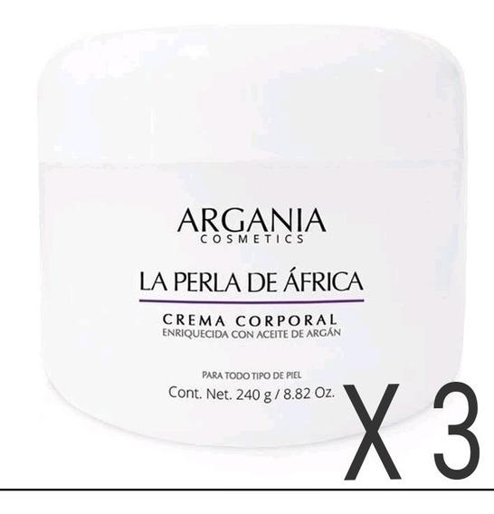 La Perla De Africa , 3 Cremas Con Aceite De Argán ! Env Grat