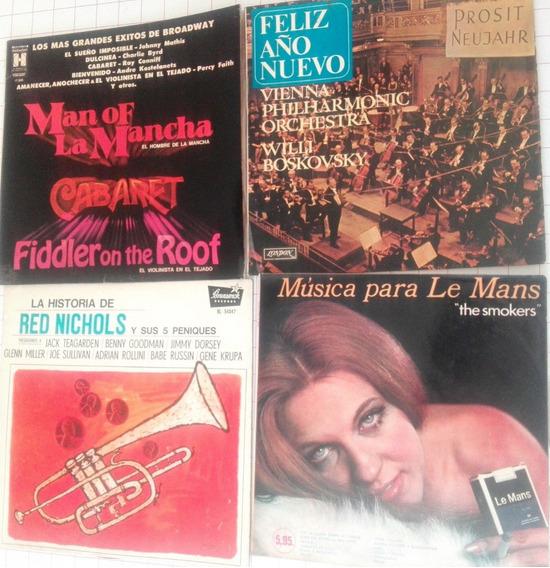 Lote De 4 Discos De Vinilo Coleccion Internacional D09