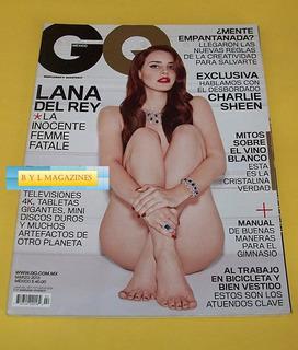 Lana Del Rey Revista Gq Mexico 2013