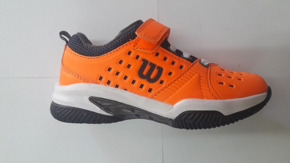 Zapatillas Wilson Set Kids Orange Envios Gratis Todo Pais